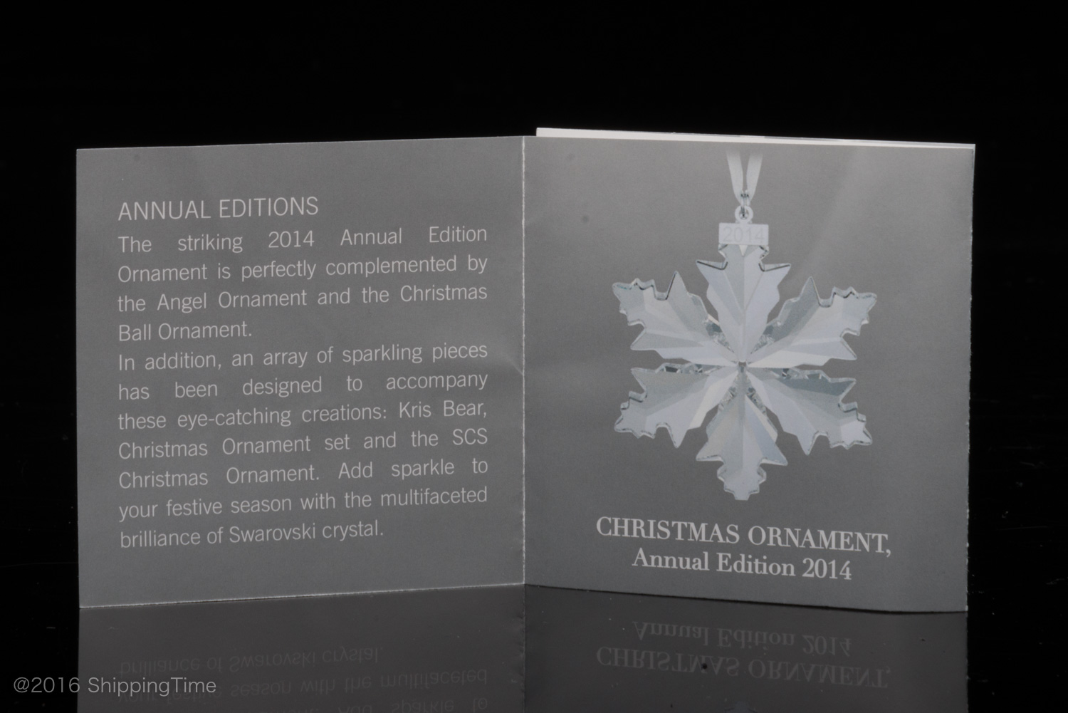 Swarovski Annual SCS Edition 2014 Christmas Xmas Ornaments ...
